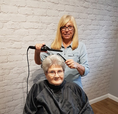 New hair salon opens at Bernadette House