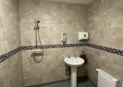 Wet room en suite
